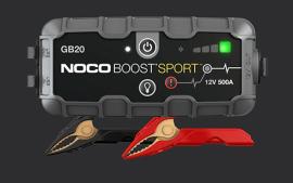 בוסטר התנעה NOCO GB20 מודל 2020 – יבואן רשמי