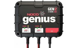 מטען מצברים 20A עם אפשרות חיבור לשני מצברים במקביל GEN2