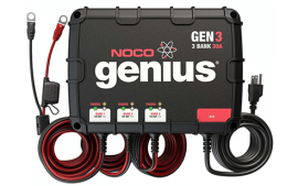 מטען מצברים 30A עם אפשרות חיבור ל-3 מצברים במקביל GEN3