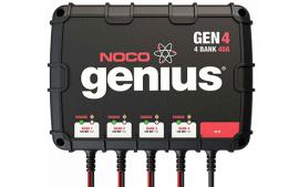 מטען מצברים 40A עם אפשרות חיבור ל-4 מצברים במקביל GEN4