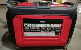 גנרטור אינוורטר מושתק 4000W התנעה חשמלית