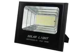 פרוז'קטור סולארי 200W+ פאנל סולארי 50W